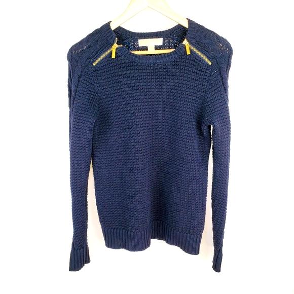 Michael Kors small blue sweater